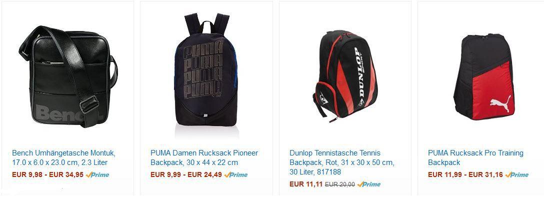Bench Umhängetasche Montuk ab 9,99€ bei der Amazon Rucksack Tagesaktion!