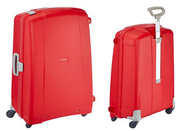 Samsonite Aeris Spinner 8231 Samsonite Aeris Spinner 82/31 Koffer für 77,48€   81cm, 119 L, Rot
