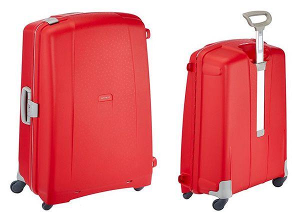 Samsonite Aeris Spinner 82/31 Koffer für 77,48€   81cm, 119 L, Rot