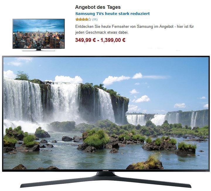 Samsung TVs heute stark reduziert @Amazon   Update