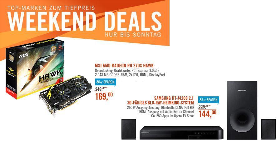 Samsung HT J4200   2.1 Blu ray 3D Heimkino System ab 139€ bei den Cyberport Weekend Deals