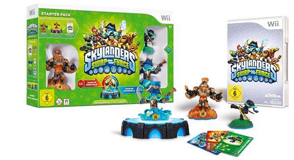 Skylanders Swap Force Starter Pack (Wii) ab 14,98€