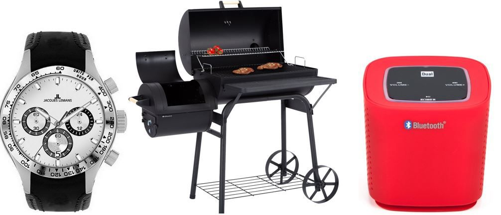 Ultranatura Smoker Grill Denver 2 Brennkammern für 111€   bei den 23 Amazon Top Blitzangeboten ab 18Uhr
