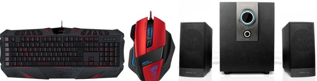 Speedlink Gamer B Ware zu guten Preisen   z.B. Speedlink AVENZA 2.1 Subwoofer System für 15,99€