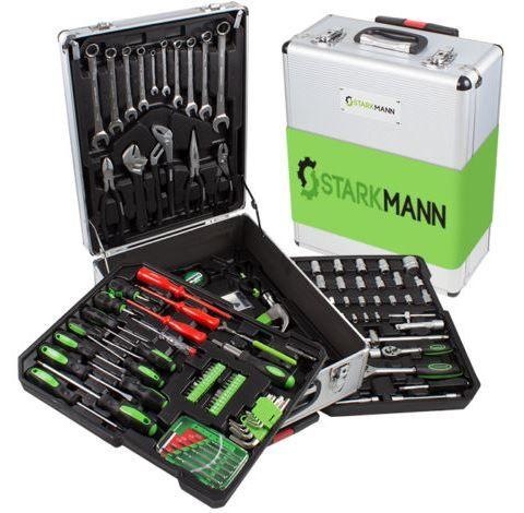 STARKMANN Greenline   399 teiliger Alu Werkzeug Trolley für 79,99€ (statt 89€)