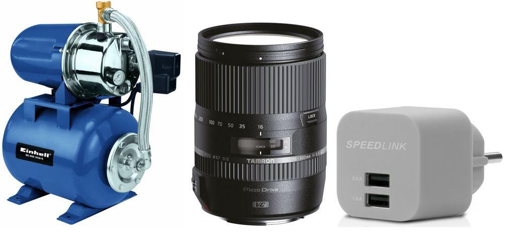 Tamron Nikon Canon Sony MEDION (MD 14302) Overlock Nähmaschine für 99,99€  bei den 37 Amazon Blitzangeboten ab 18Uhr