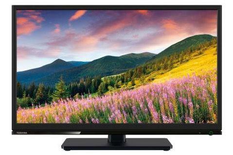 Toshiba 24W1533DG   24 Zoll HD Ready Fernseher mit Twin Tuner für 159€