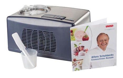 Unold 48808 Eismaschine Schuhbeck mit Kompressor für 175€