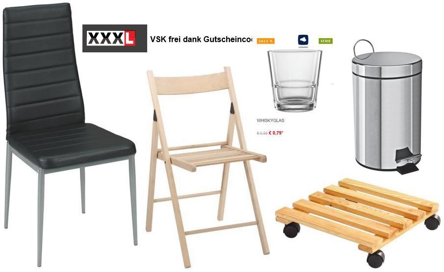 XXXL Shop   dank VSK frei Gutschein (20€ MBW)   z.B. Leonardo Gläser, Tassen ab 0,79€ inkl. VSK   Update!