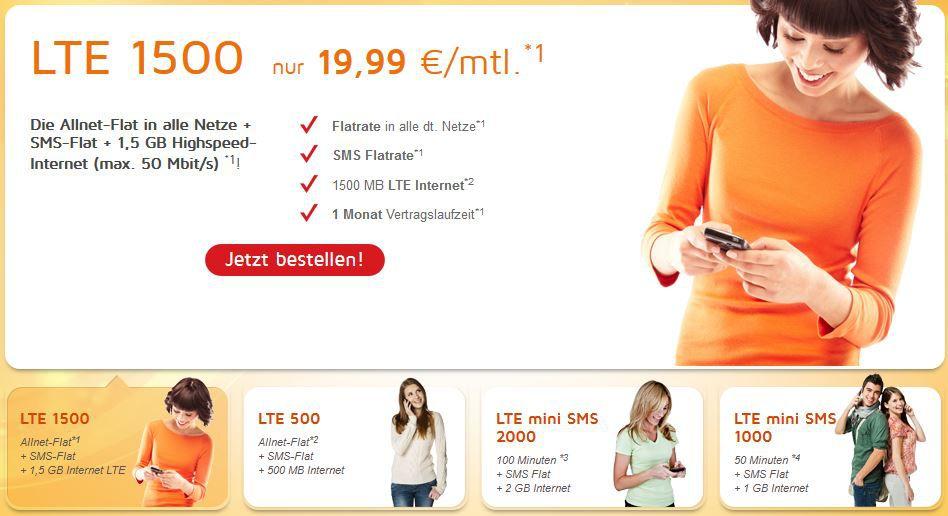 Simdiscount   Mobil Verträge mit LTE ab 4,99€ und mit mtl. Kündigung!