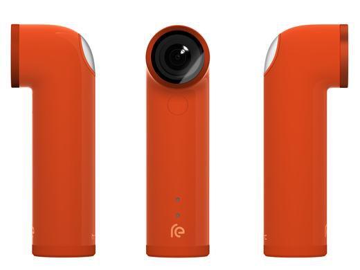 HTC RE   weiße Actioncam mit Weitwinkelobjektiv statt 60€ für nur 49€