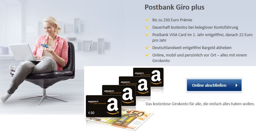 neue Postbank Aktion