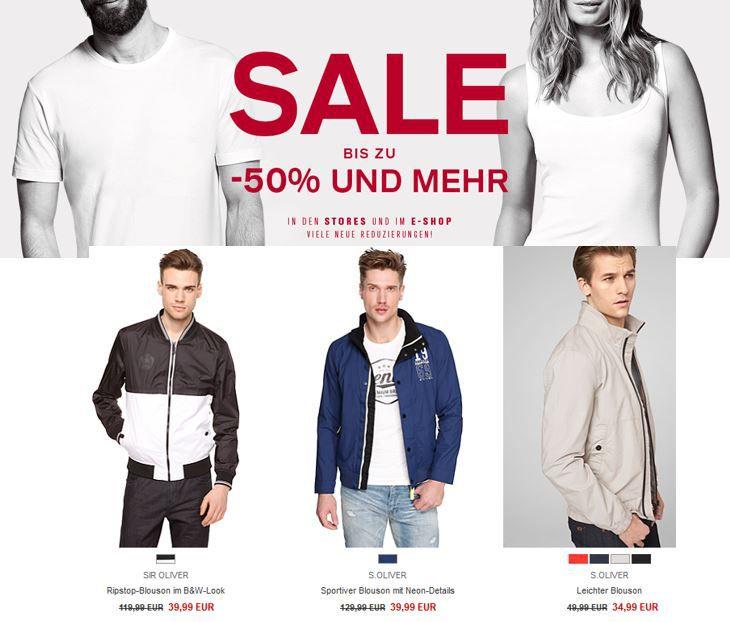 s.Oliver Sale1 s.Oliver   Sale mit bis zu 50% Rabatt + 10% NL Gutschein + VSK frei