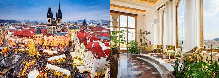 2 ÜN im 4* Hotel in Prag inkl. Frühstück, Nutzung des Fitnessbereichs und Willkommensgeschenk ab 49€ p.P.