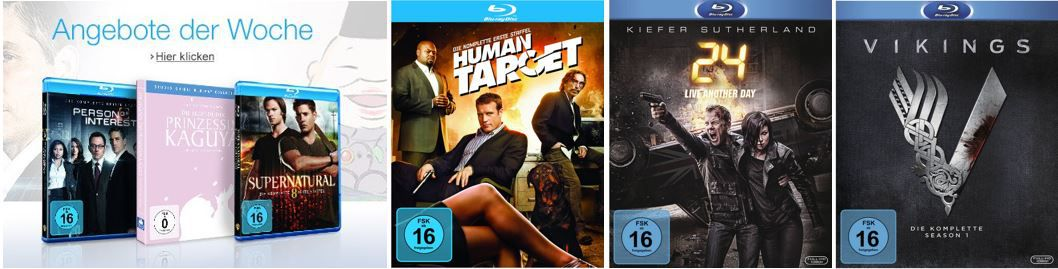 Zum Start von 24   Season 9: Serien zum Sonderpreis und mehr Amazon DVD oder Blu ray Angebote