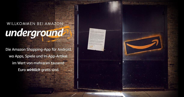 Amazon Underground App: neue Plattform für (kostenlose) Apps & Games