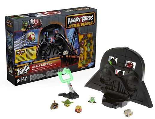Hasbro A4805E24   Angry Birds Star Wars Jenga Rise of Darth Vader Spiel ab 6,57€