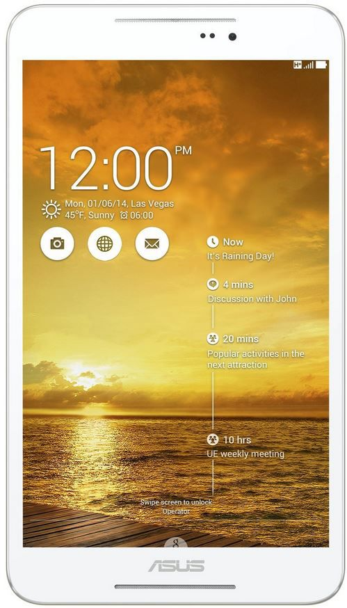 Asus Fonepad 8 Asus Fonepad 8   8 Zoll Android 4.4 Tablet mit Phonefunktion (3G) für nur 114€
