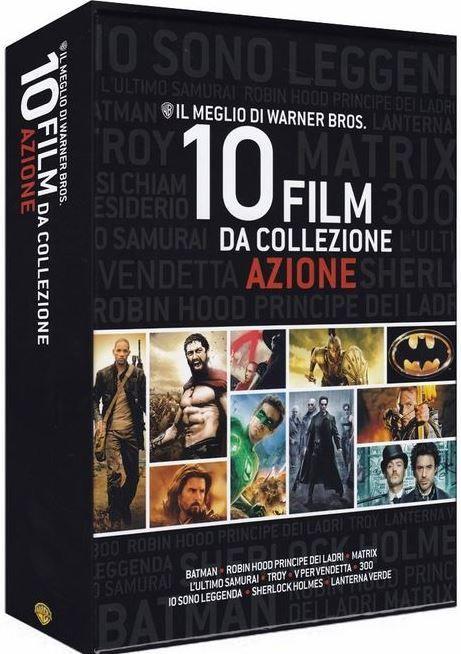 Best of Warners Bros. 10 Filme Blu ray Box   Batman, 300, V wie Vendetta .... für 29,99€