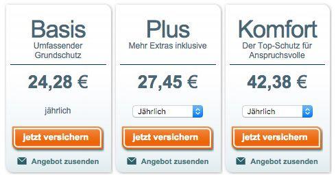 asstel Hausratversicherung sehr günstig dank 45€ Amazon Gutschein