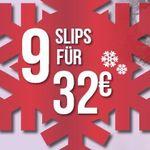 9 Slips ab 32€ bei Hunkemöller – nur online!