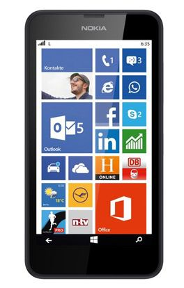 Nokia Lumia 635 LTE Windows Phone 8.1 statt 95€ für 59,90€