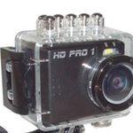 HD PRO 1 Action Cam – Full HD, 5 Megapixel und 4-fach dig. Zoom für 44€