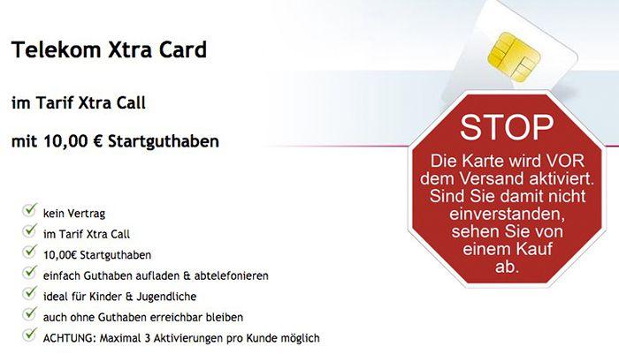 Bildschirmfoto 2016 10 20 um 14.35.07 Telekom Xtra Card mit 10€ Guthaben für 4,90€   günstiges PSN Guthaben