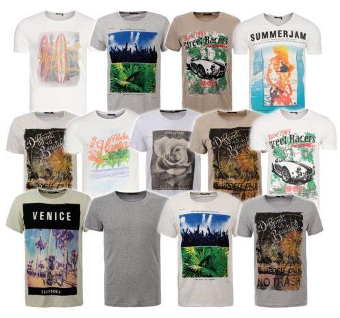 Glo Story Shirts für Herren in verschiedenen Motiven für je 4,99€