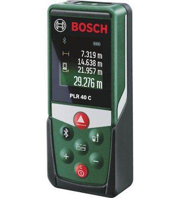 Bosch PLR 40 C + PLL 1 P (WEU) Laser Entfernungsmesser Set für 69€ (statt 88€)