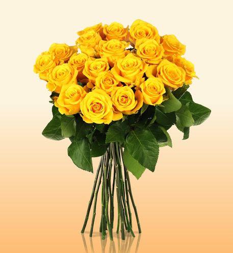 Blumenstrauß Lisa mit 20 gelben Rosen für 16,90€