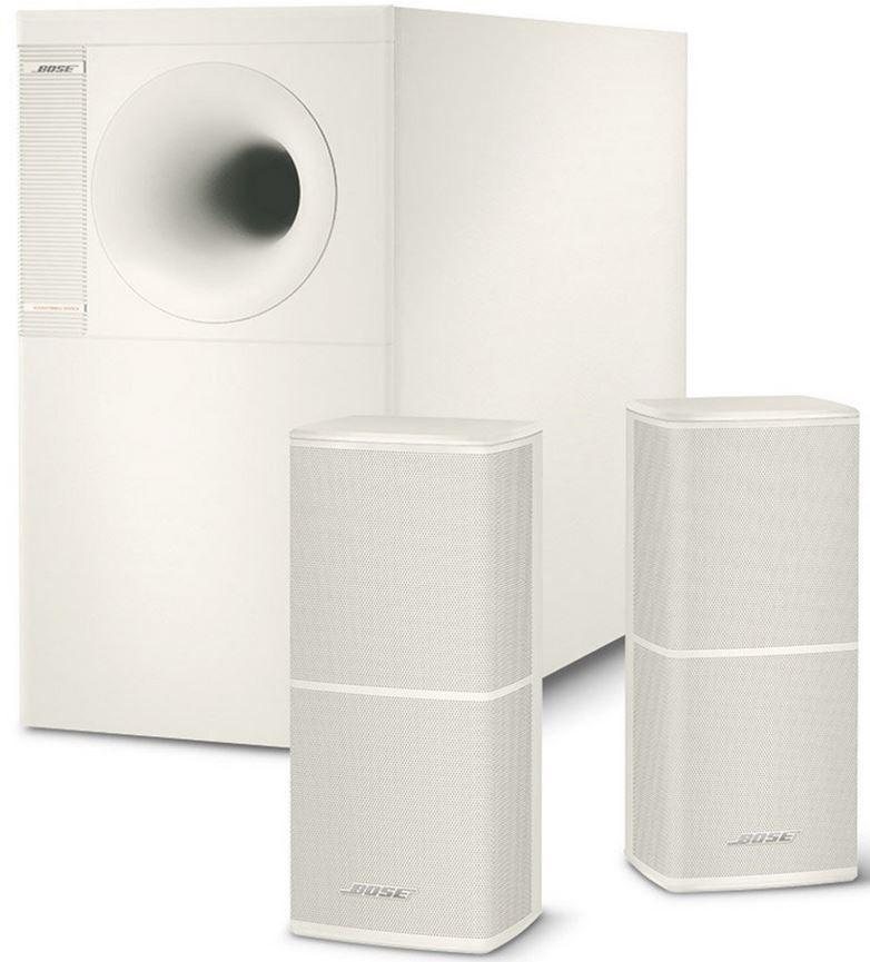 BOSE Acoustimass 5 Verie V   Stereo Lautsprecher System in weiß   statt 551€ für 409,20€