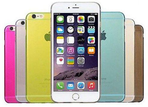 iPhone 6 / 6 Plus Bumper Silikon Hülle + Displayfolie für 1€   verschiedene Farben verfügbar