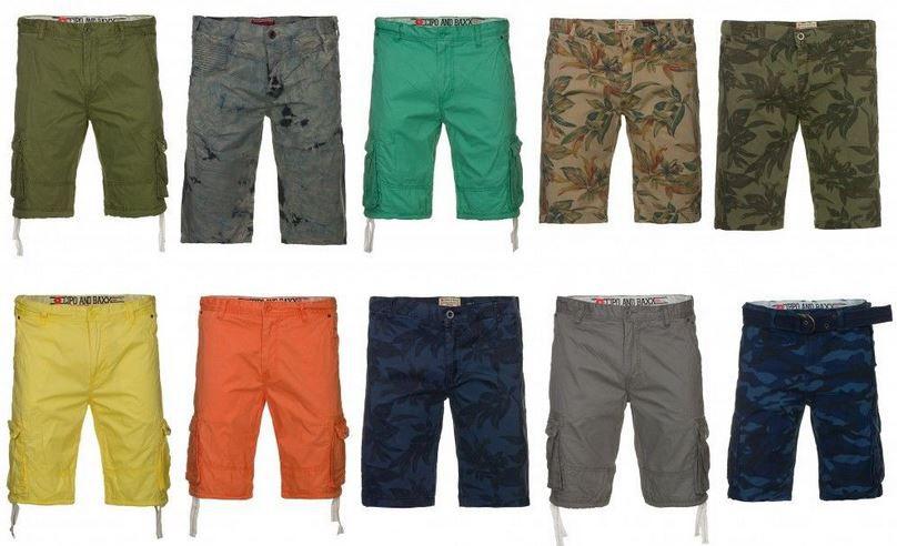 CIPO & BAXX   Cargo Herren Shorts und Bermuda für je 19,99€