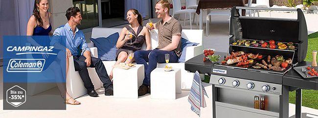 Campingaz Günstige Gasgrills und Kühlboxen bei brands4friends dank Campingaz Aktion   10€ Gutschein für Neukunden