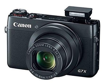 Canon PowerShot G7 X Canon PowerShot G7 X Digitalkamera für 439€   20,2 MP, 4,2x opt. Zoom, WLAN, NFC