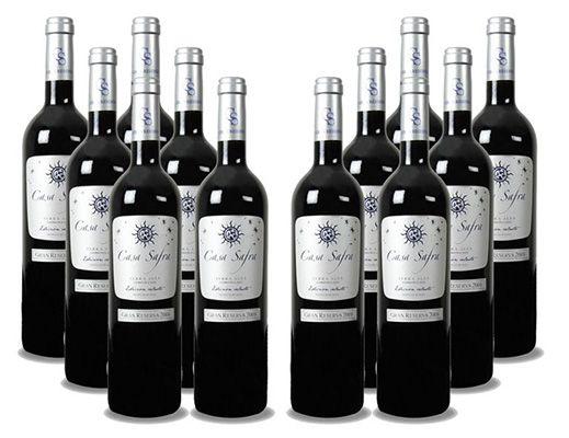 12 Flaschen Casa Safra Terra Alta Gran Reserva Rotwein für 66,38€