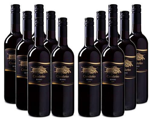 18 Flaschen Cielo e Terra Casaletto Rosso VdT italienischer Rotwein für 54,95€