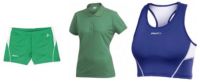 Craft Sportkleidung Craft Sportkleidung für Damen/Herren/Kinder für 0,99€   schwach verkaufte Größen im Ausverkauf!
