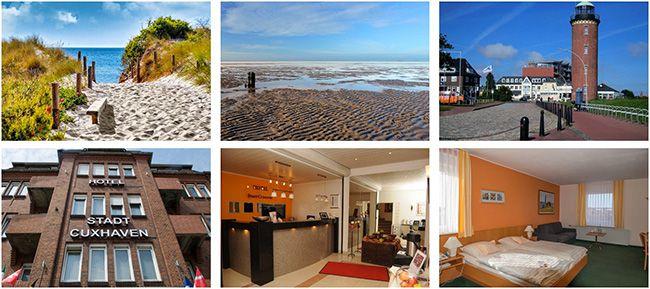 Cuxhafen Kurztrip 2 Nächte Cuxhaven im 3 Sterne Hotel mit Frühstück + 1 Tag Saunawelt ab 79€ p.P.