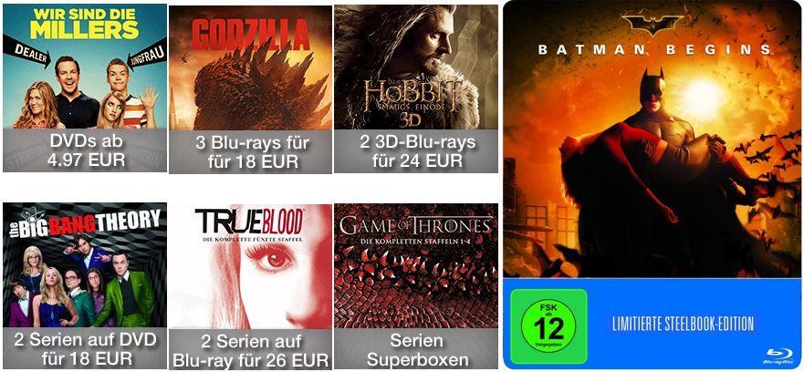Heiße Preise für Filme, Serien & Games und mehr Amazon DVD oder Blu ray Angebote