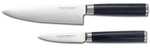 Echtwerk 2 tlg Damastmesser Set Koch / Schälmesser für 49,99€