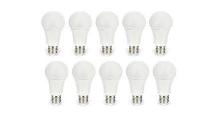 Daylite LED Lampe 10er Pack Daylite LED Lampe E27 9,5W für 24,45€