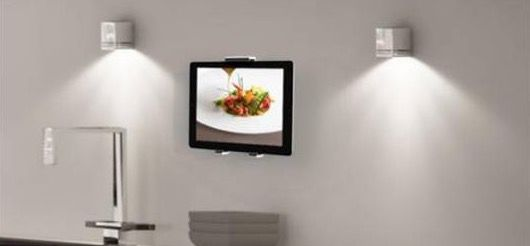 Exelium XFlat UP155   Universeller Tablet Halter mit Wandaufnahme für 21,95€