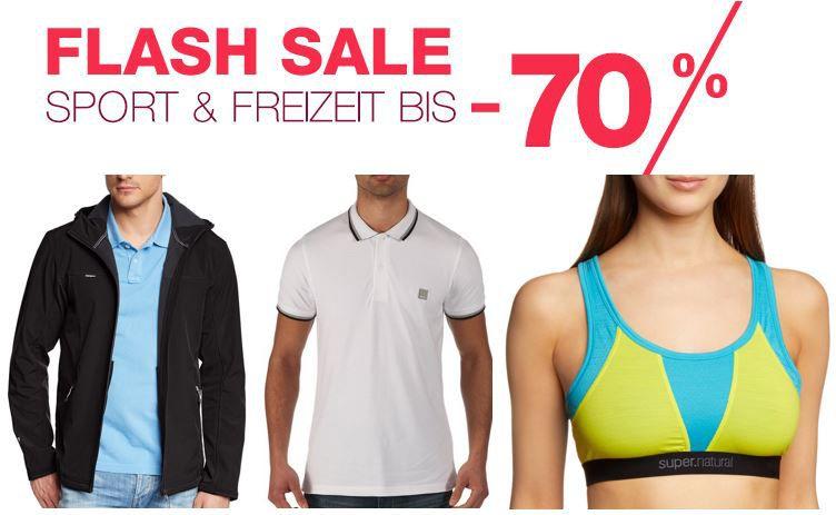 Amazon Sport & Freizeit Fashion Flash Sale mit bis zu 70% Rabatt   Update