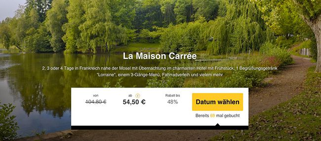 2 4 Tage Frankreich nahe der Mosel im 3 Sterne Hotel mit Frühstück ab 54,50€ p.P.