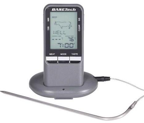 Funk Grillthermometer für 14,99€   Messbereich 0 bis 250 Grad, einstellbare Garstufe