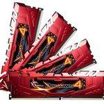 G.Skill Ripjaws4 DIMM 32GB DDR4-2400 CL15 Arbeitsspeicher für 249€ (statt 338€)