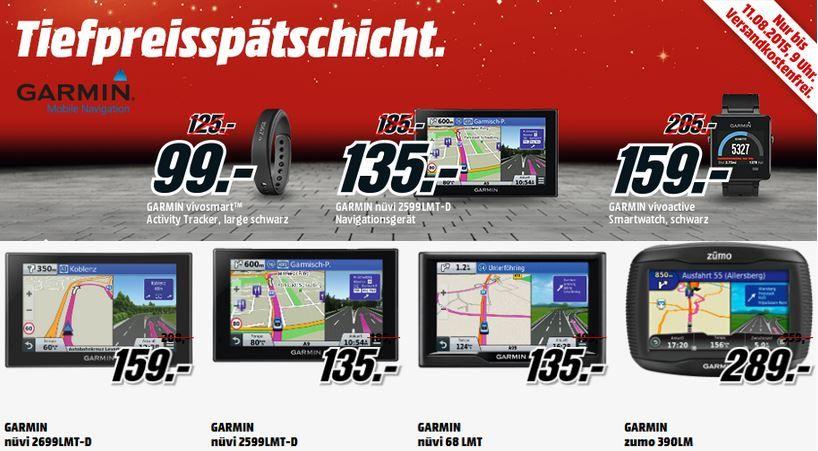 Garmin Sale Garmin vivofit 2 für nur 77€ in der in der MediaMarkt Garmin Activity   Smartwatch und Navi Tiefpreisspätschicht