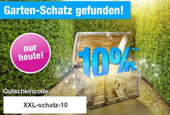 Gartenxxl 10 alles Nur heute: 10% Rabatt auf alles bei GartenXXL   z.B. Lafuma Relaxliege für nur 85,46€